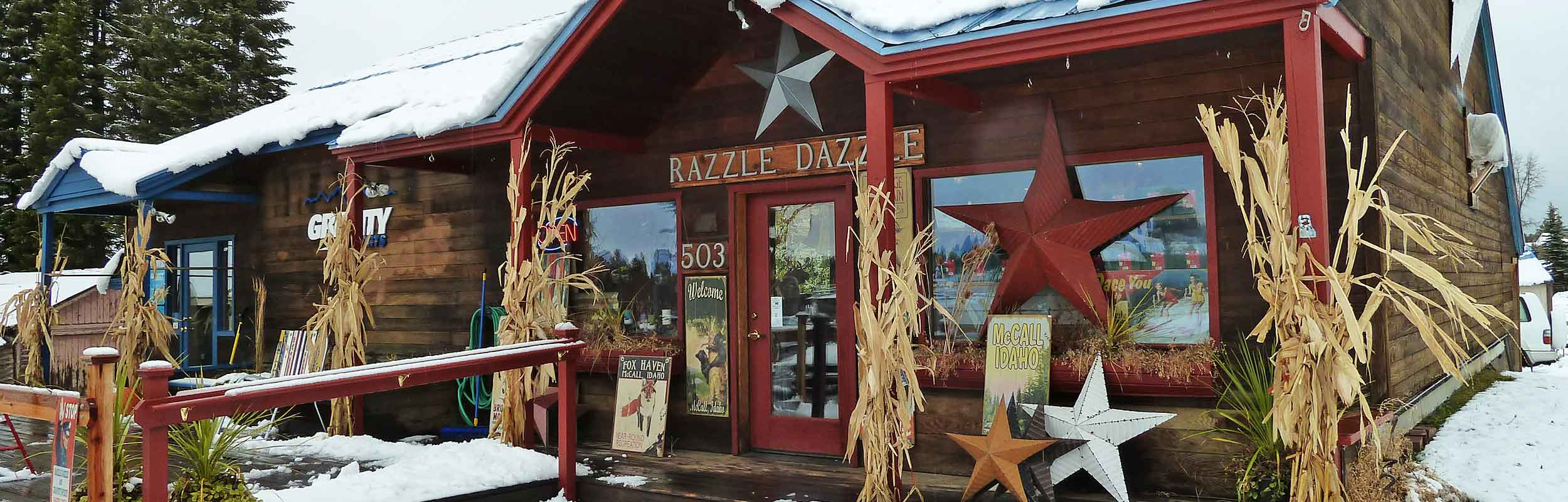 Welcome to Razzle Dazzle in McCall Idaho!